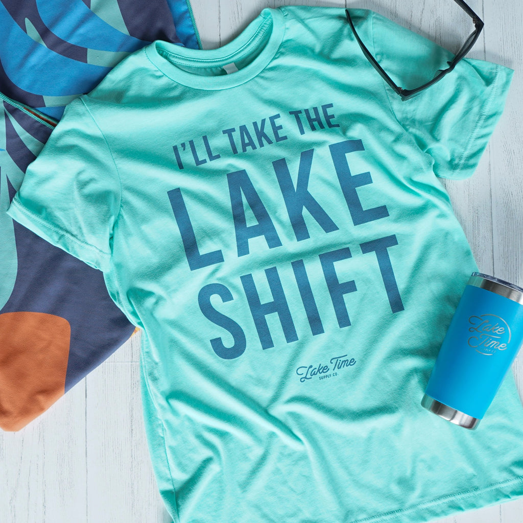 Unisex Tee - Lake Shift - Ships in 2 weeks - Lake Time Supply Co.