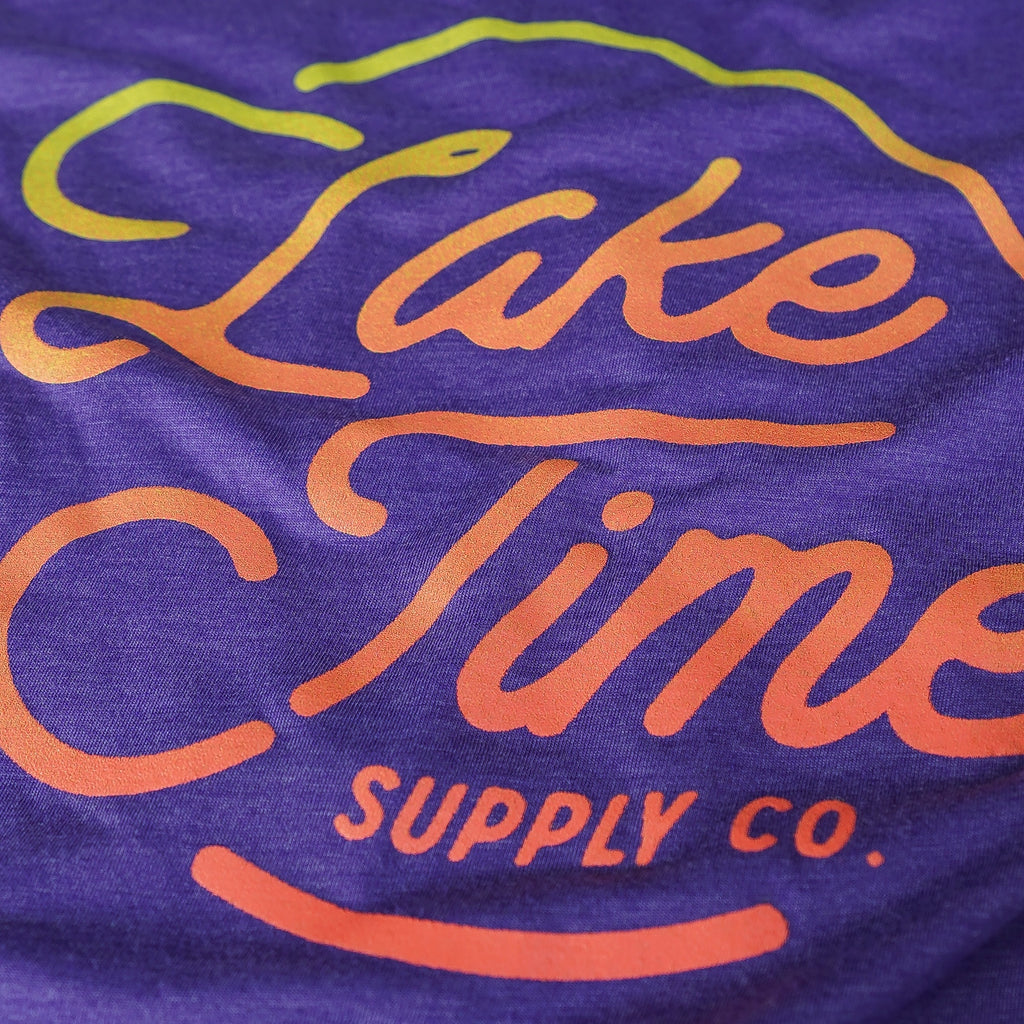 Lake Time Logo Tank - Unisex Fit (Purple)