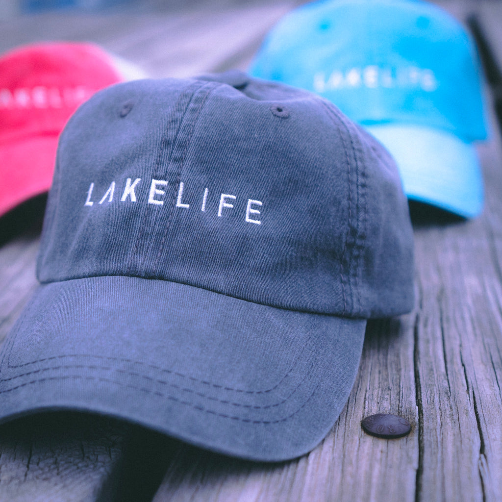 Lake Life Ball Cap (Dad Hat Style)