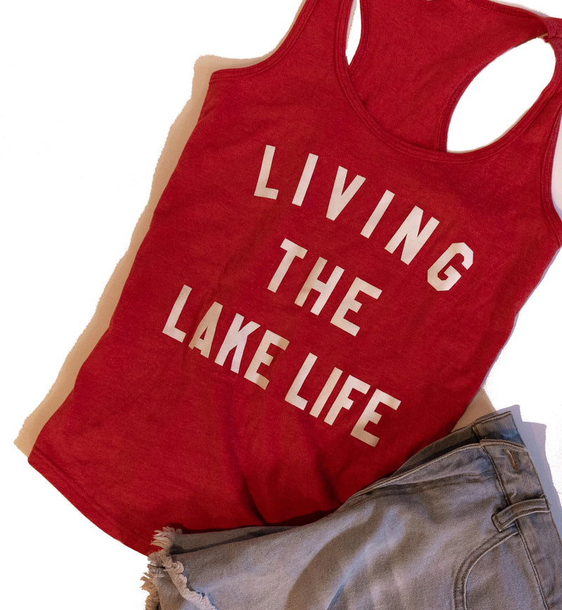 Racerback Tank Top - only XS + XL remaining - Lake Time Supply Co.