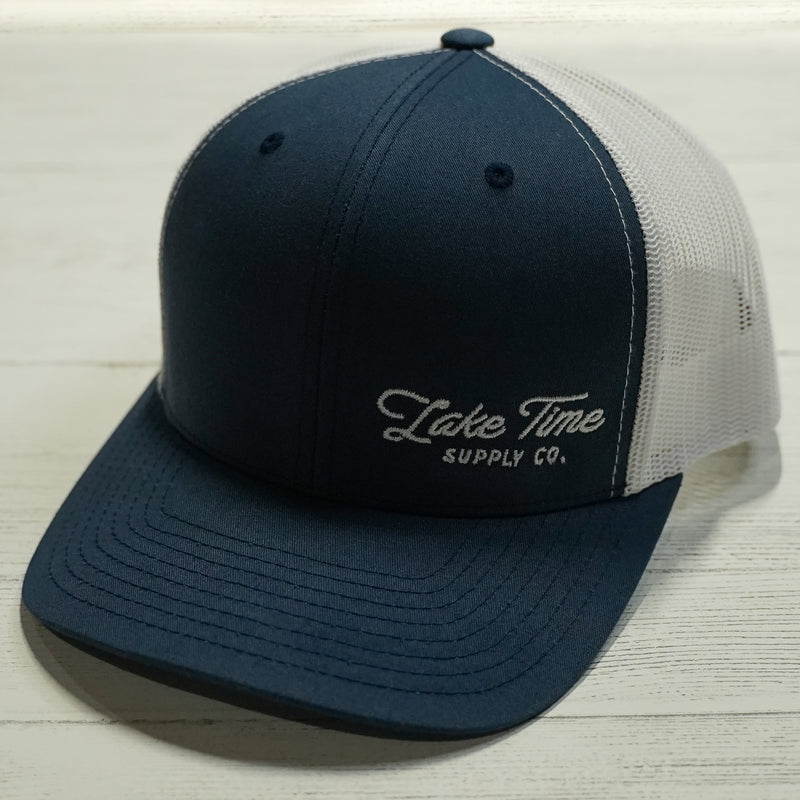 Snapback Trucker Caps (Corner Logo) - Lake Time Supply Co.