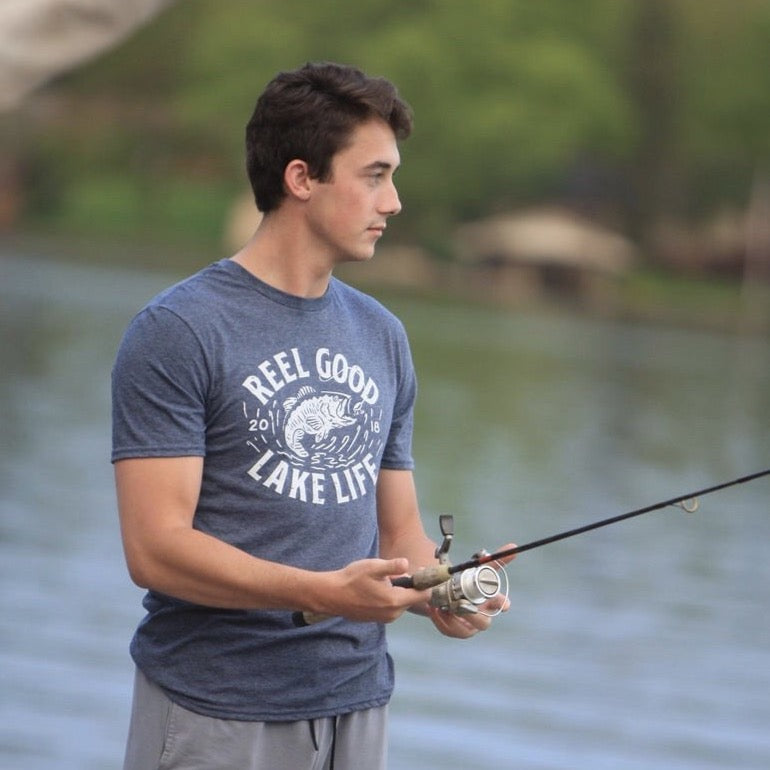 Reel Good T-Shirt - Lake Time Supply Co.