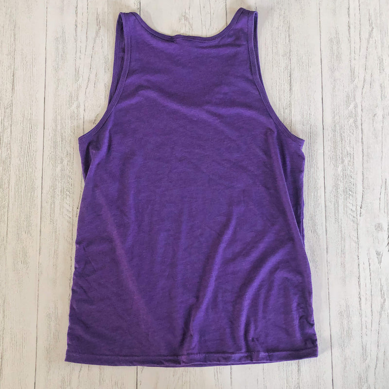 90's Lake Time Tank - Unisex Fit (Purple) - Lake Time Supply Co.