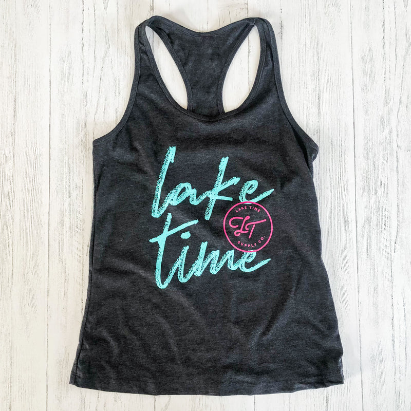 Ladies' Racerback Tank - Lake Time Supply Co.