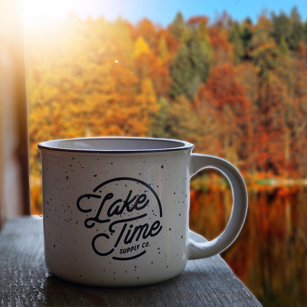 Lake Time Cabin Mug