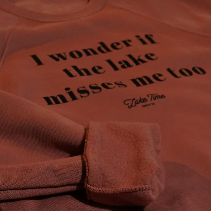 Lake Misses Me - Unisex Crewneck - Lake Time Supply Co.