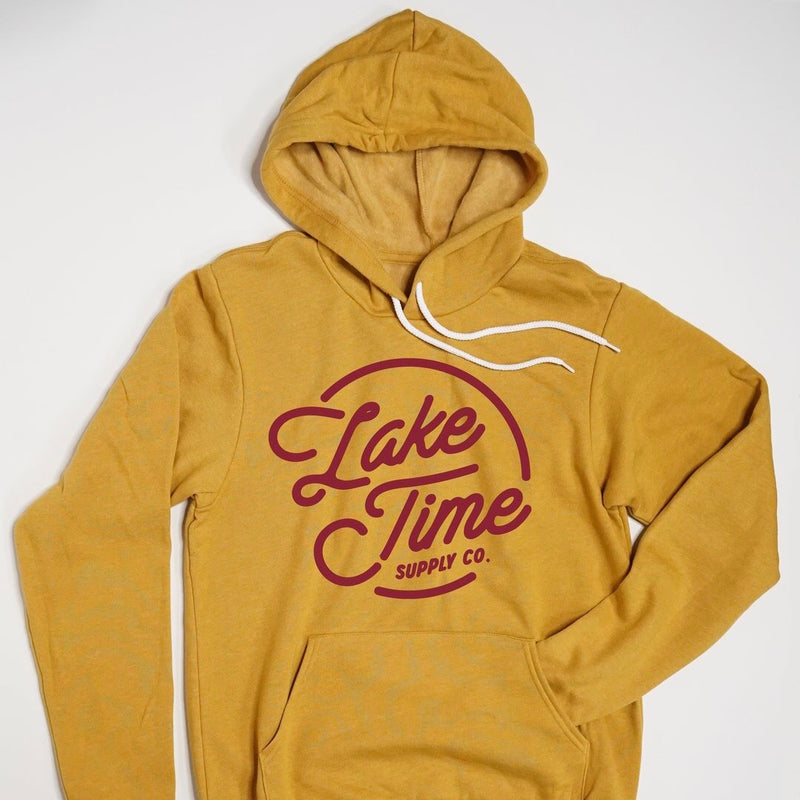 Unisex Bonfire Hoodie - Mustard - Lake Time Supply Co.