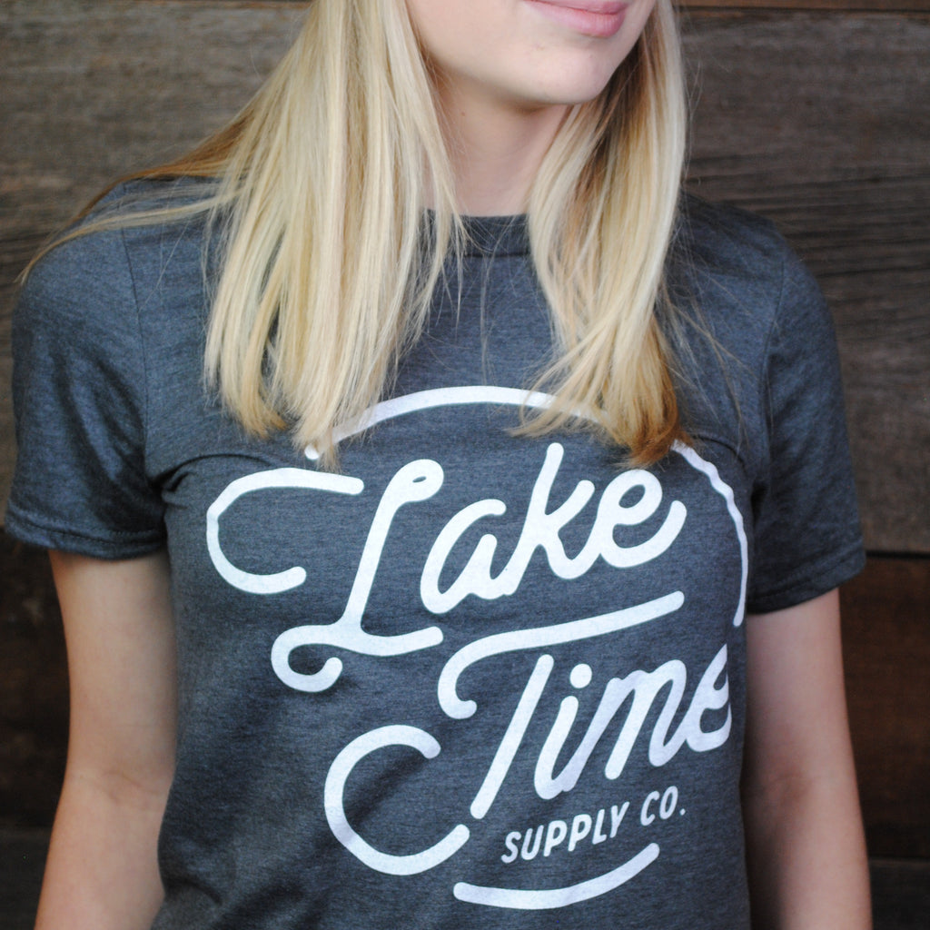 Lake Time Logo T-Shirt (Unisex) - Lake Time Supply Co.