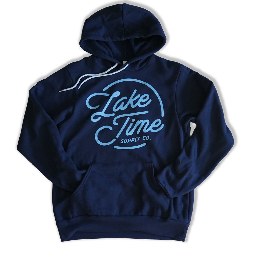 Unisex Bonfire Hoodie - Navy - Lake Time Supply Co.