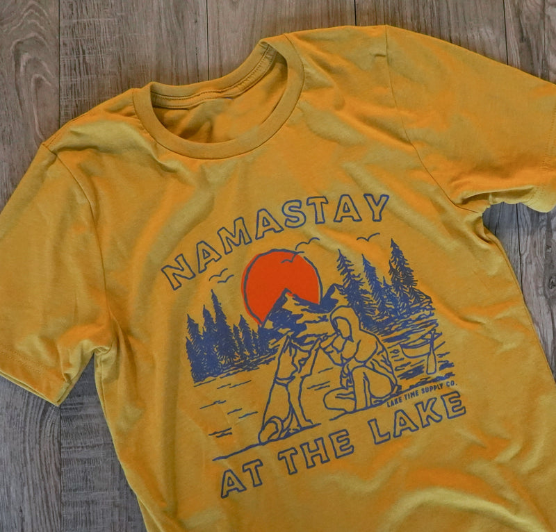 Unisex T-Shirt - Namastay At The Lake - Lake Time Supply Co.