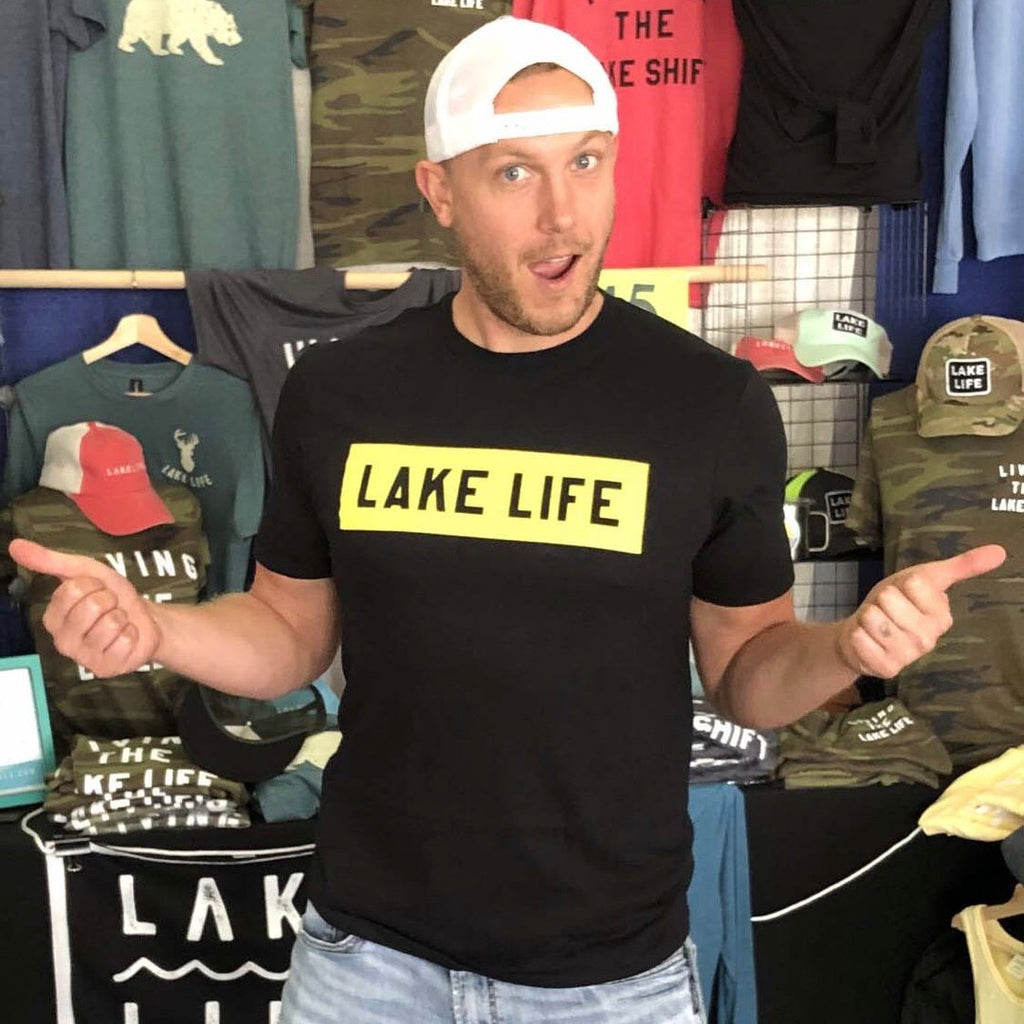 Lake Life Block T-Shirt (Unisex)