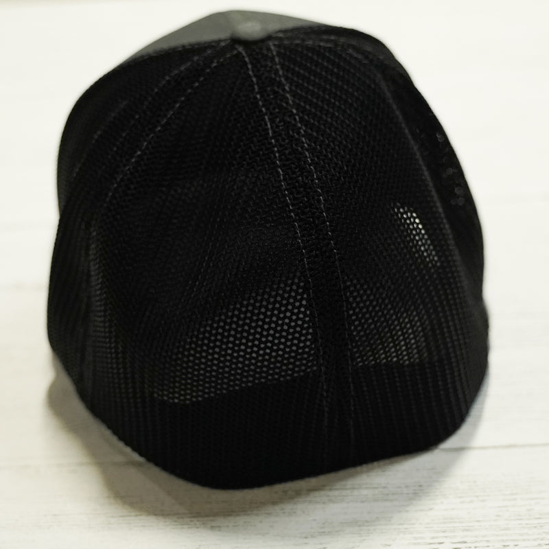 Black/Charcoal Fitted Cap - Lake Time Supply Co.