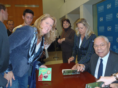 Swapping Book Stories with Colin Powell