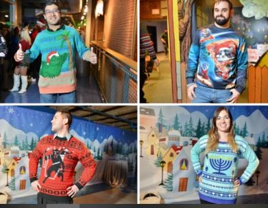 Boston Grown-Ups Museum Ugly Sweater Party at the Children's Museum