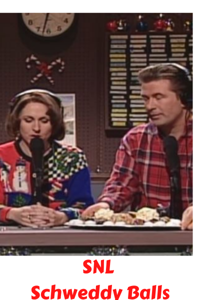 Schweddy Balls  - An SNL Christmas Classic Complete with Ugly Christmas Sweaters