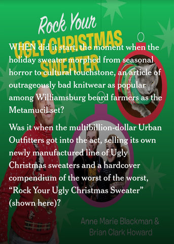 new york times ugly christmas sweater photos