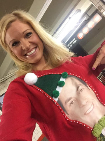 My Ugly Christmas Sweater and Fox & Friends Weekend Selfie