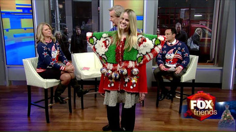 My Ugly Christmas Sweater Fox & Friends Runway Show