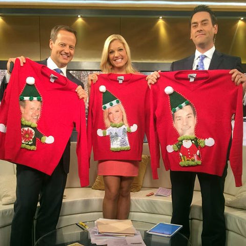 Fox & Friends Weekend My Ugly Christmas Sweater Personalized Sweaters