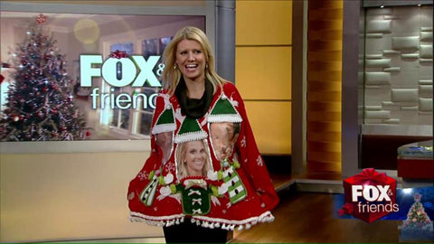 Fox & Friends My Ugly Christmas Sweater Personalized Sweater