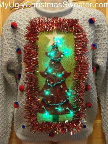 20df482ac Ugly Christmas Sweater Pictures - Funny Outrageous Tacky Christmas ...