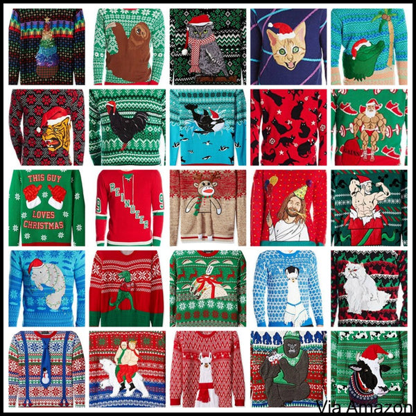Super Cheap Ugly Christmas Sweaters