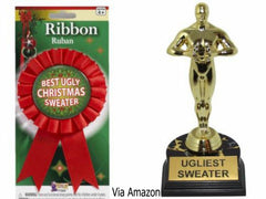 Christmas sweater contest awards