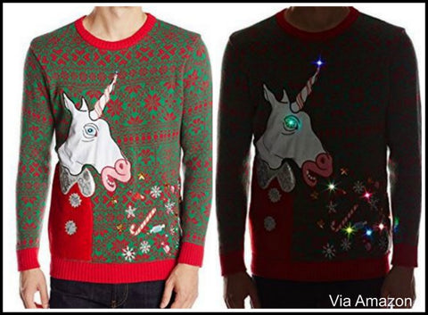 light up ugly christmas sweaters with lights - Ugly Christmas Sweater Amazon