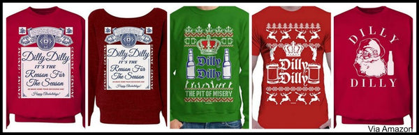 dilly-dilly-christmas-sweaters-sweatshirt-tshirt