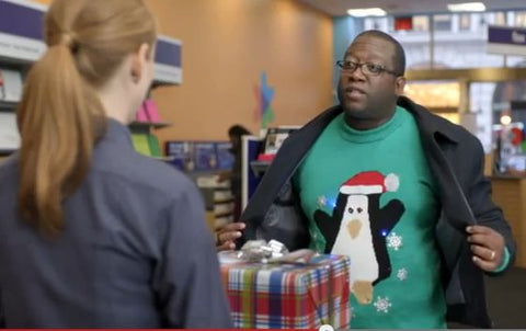 fedex ugly christmas sweater