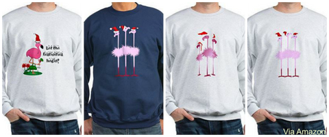 flamingo-christmas-sweatshirt