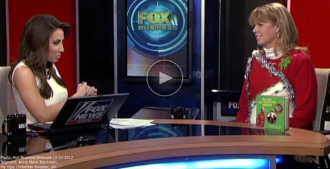 fox business network ugly christmas sweaters