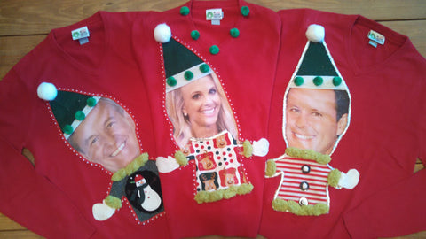 fox and friends custom christmas sweaters for the hosts made by anne marie blackman