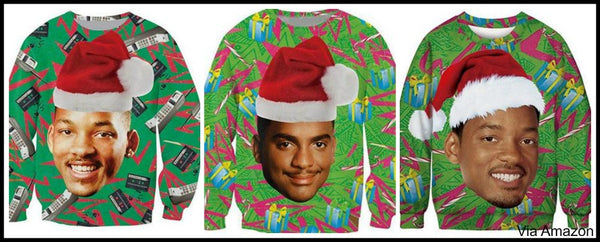Ugly Christmas Sweaters Funny Under 20 80s Lights Naughty