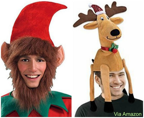 funny-christmas-hats-elf-reindeer