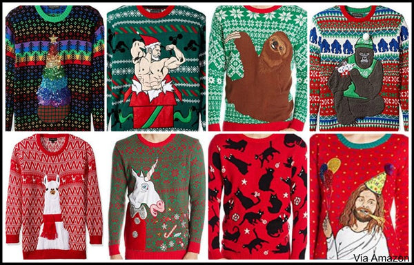 Ugly Christmas Sweaters Funny Under 20 80s Lights