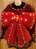 big bow sweater myuglychristmassweater.com