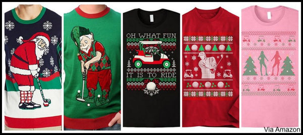 golf-christmas-sweaters