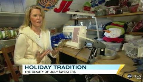ugly christmas sweaters good morning america