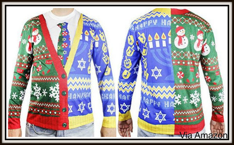 cd9f51251 Hanukkah Sweaters and Vests for Men and Women