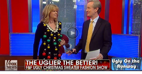 fox and friends ugly christmas sweater fashion show