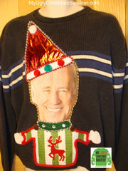 joe biden christmas sweater