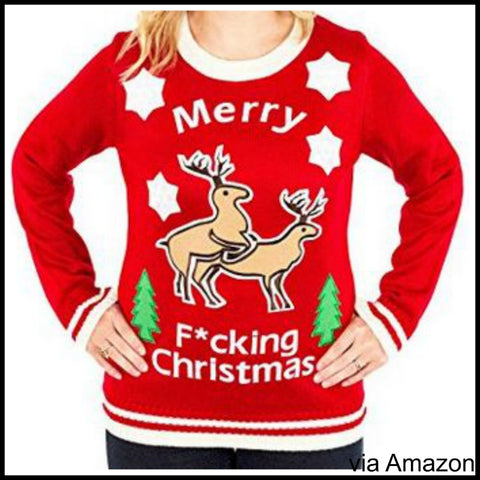 merry fing christmas sweater - Inappropriate Christmas Sweaters