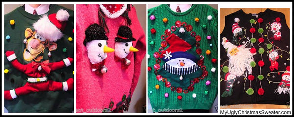 my ugly christmas sweater first sweaters 2008 - My Ugly Christmas Sweater