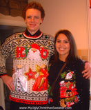 My Ugly Christmas Sweater Homemade Mens XXL