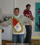 My Ugly Christmas Sweater Wacky Santa Contest Winner