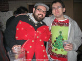 My Ugly Christmas Sweater Contest Winner Giant Bow with Lights