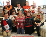 My Ugly Christmas Sweater Chistmas Party Family Picture