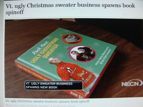 vermont ugly christmas sweater business book