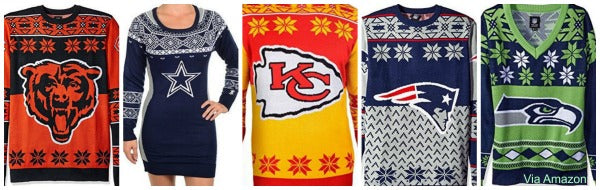 Ugly Christmas Sweaters | Funny, Under $20, '80s, Lights, Naughty